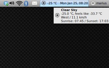 Winter in Iași: -25°C, feels like -33.7°C