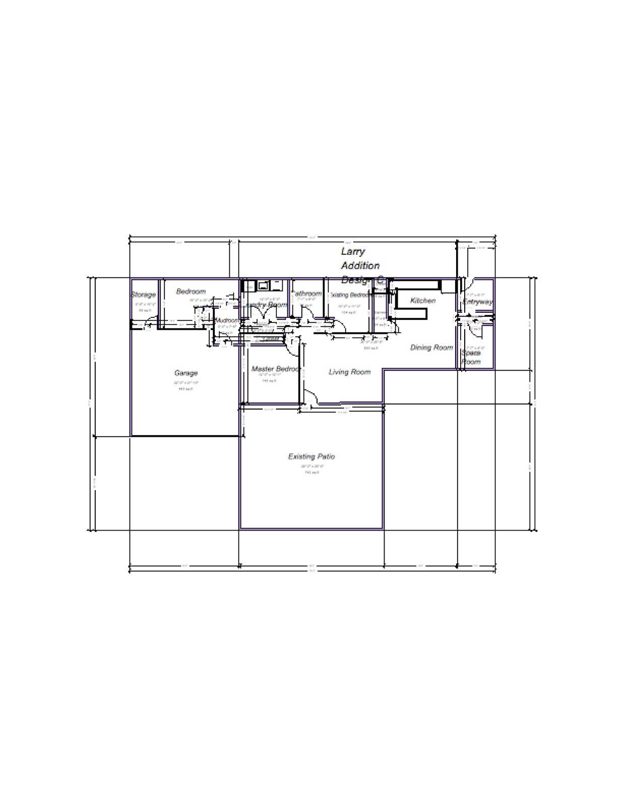 Larry 39 s design plans to make ranch house ada accessible Universal house plans