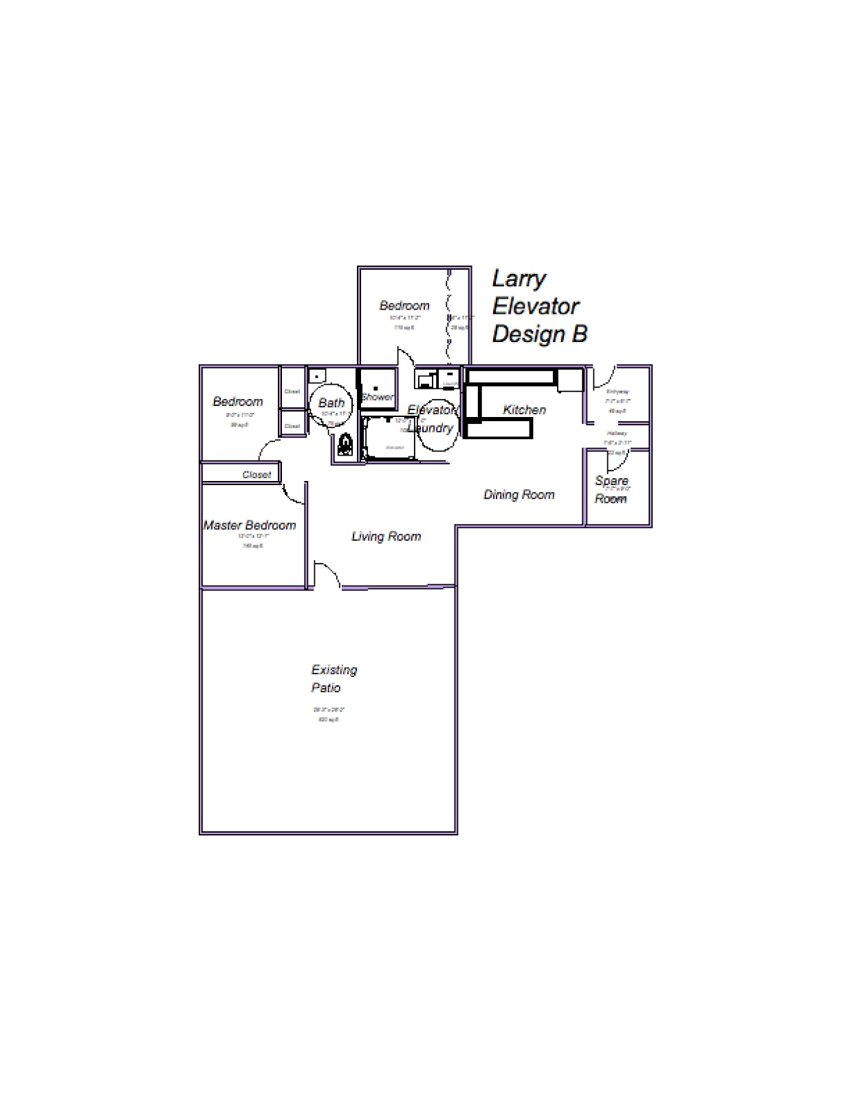 Larry 39 S Design Plans To Make Ranch House Ada Accessible