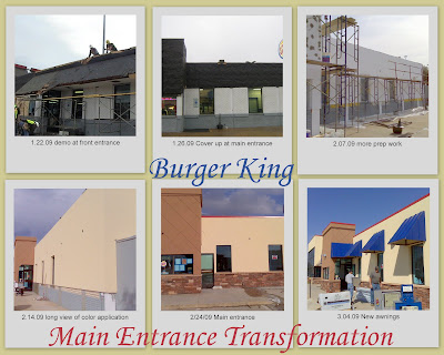 Woody Gibson Of Parkway Construction Burger King Remodel
