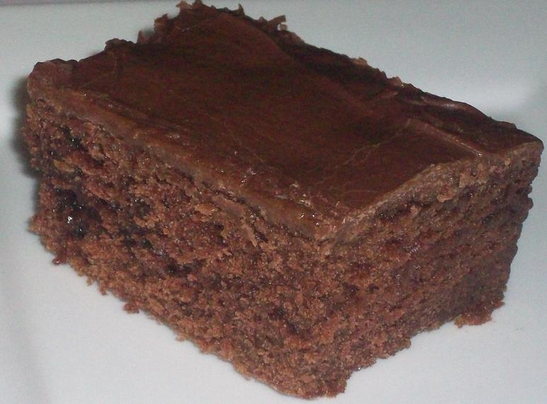 Chocolate Birthday Sheet Cake Chocolate sheet cake with