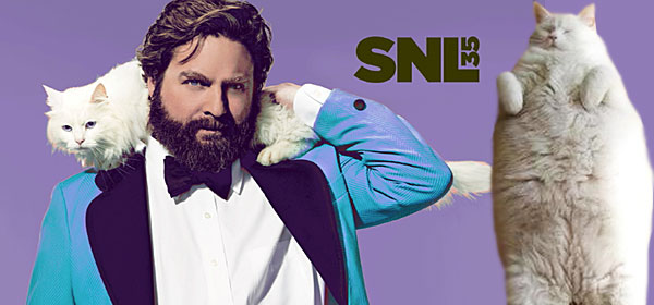 zach galifianakis snl monologue. I quote from this SNL opening