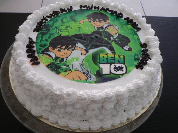 Cake Images With Name Irfan : Shugarholic: Birthday cakes - ben10