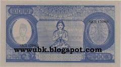 Rp 10.000 Wanita Meditasi