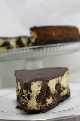 Amber's Delectable Delights: Brownie Mosaic Cheesecake