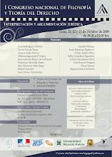 I Congreso Nacional de Filosofía y Teoría del Derecho - URP