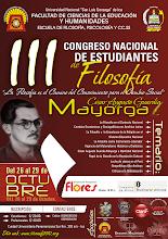 III CONGRESO NACIONAL DE ESTUDIANTES DE FILOSOFÍA - ICA - CONEF 2010