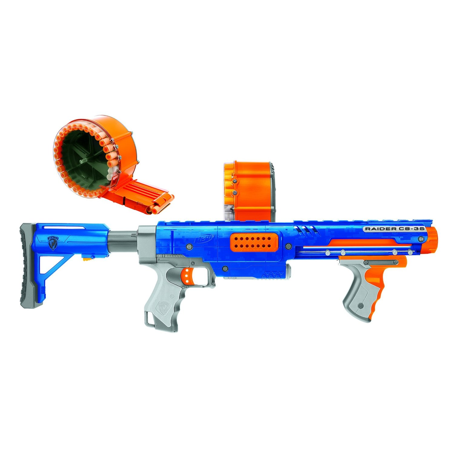 Nerf guns are known for the two famous sets such as the nerf raider cs