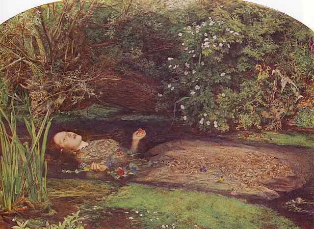 Les oeuvres picturales que vous aimez John+Everett+Millais_Ophelia_1851-1852_2