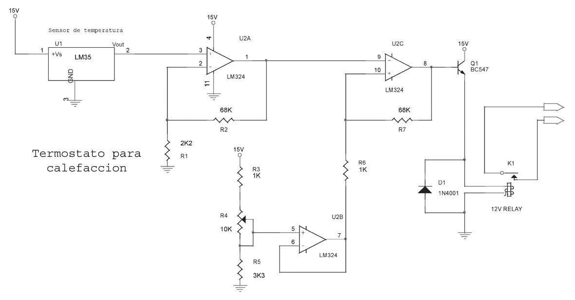 Estudiantes de ingenier a mec nica termostato casero for Clases de termostatos