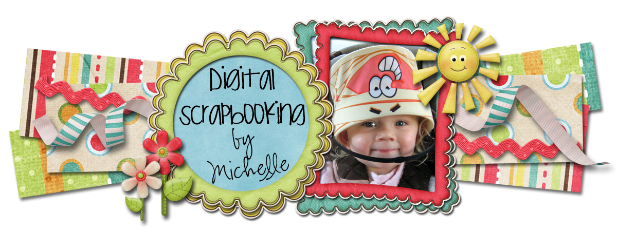 Digital Scrapbooking by Michelle