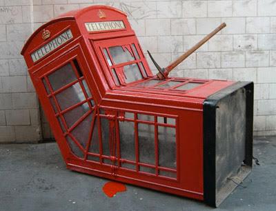 Telefónna búdka, ktorá bola predaná za 450 000 dolárov
