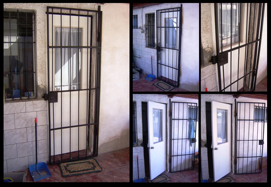 Bitacora de la casa reja exterior cocina for Puertas para cocina exterior