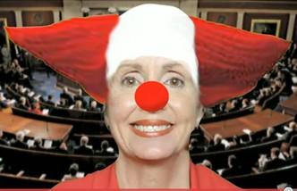 Nancy Pelosi clown