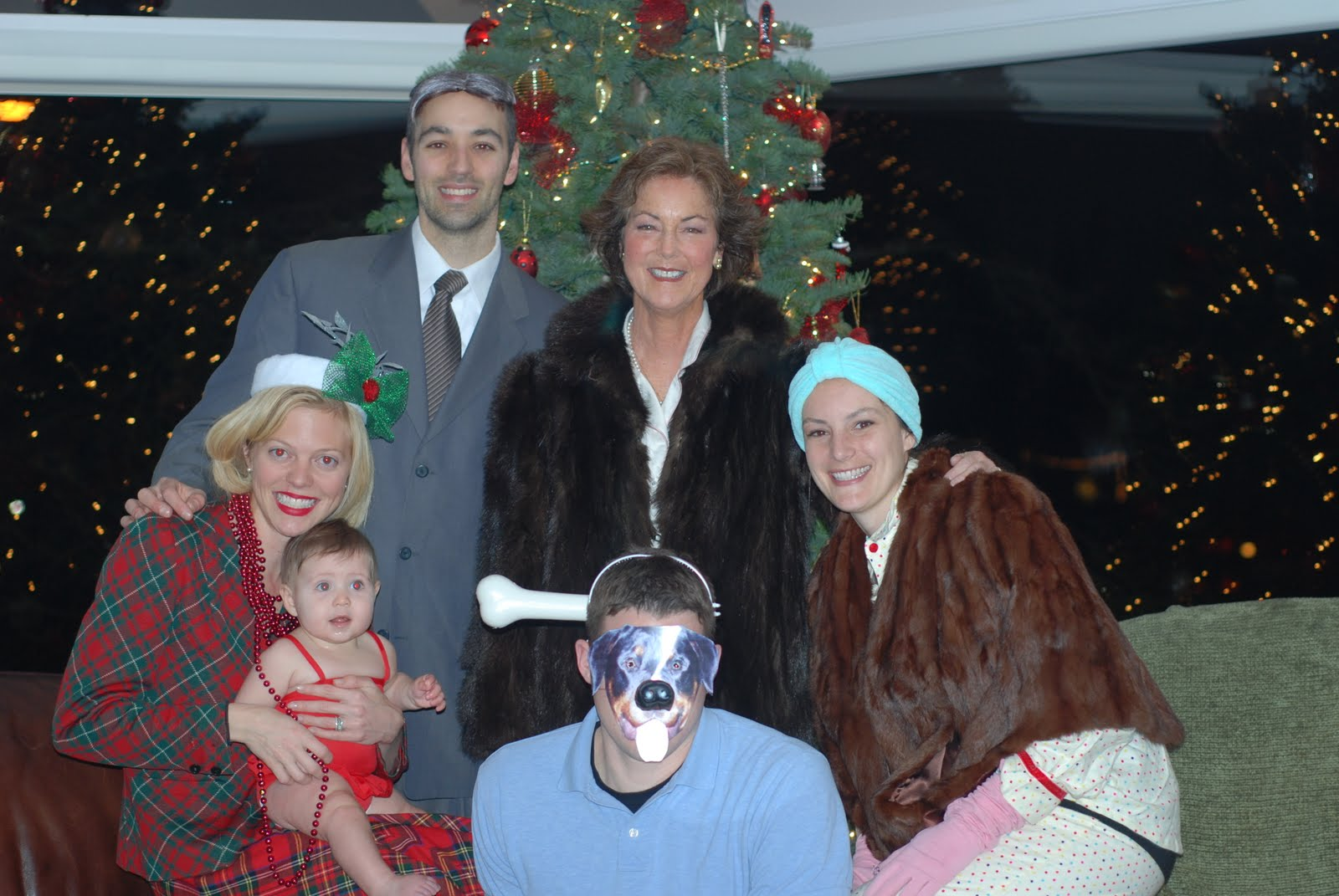 happy new year and a quick look at lillians 1st christmas - Characters In Christmas Vacation