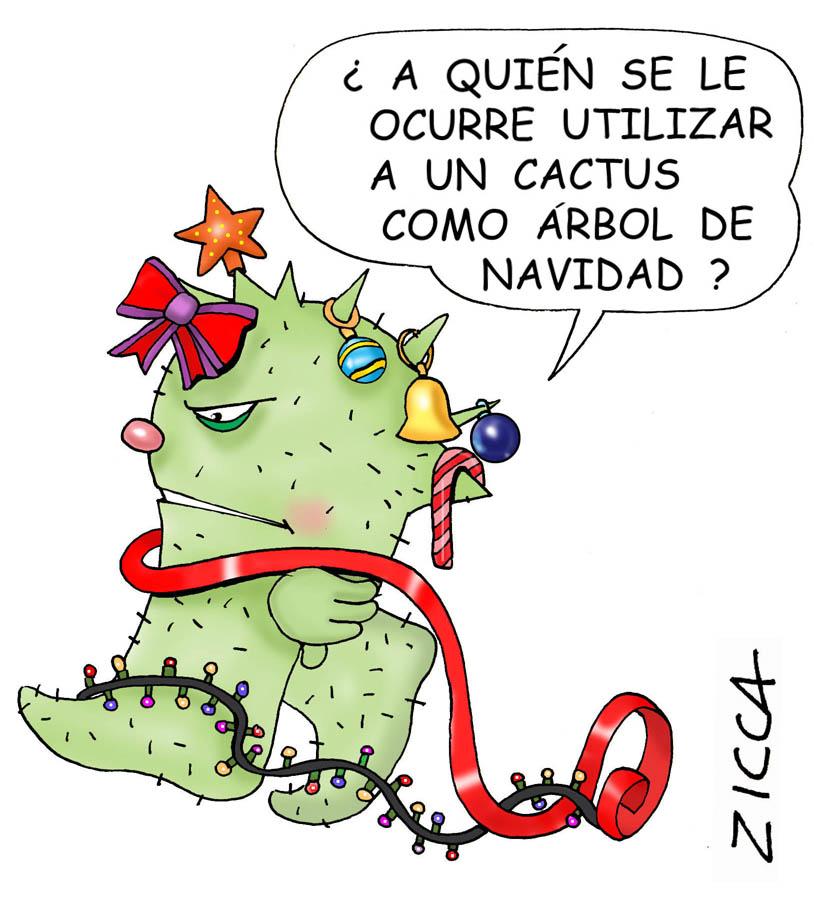 Navidad humor auto design tech for Cactus de navidad