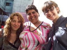 Dafne, Osita y Rocío.
