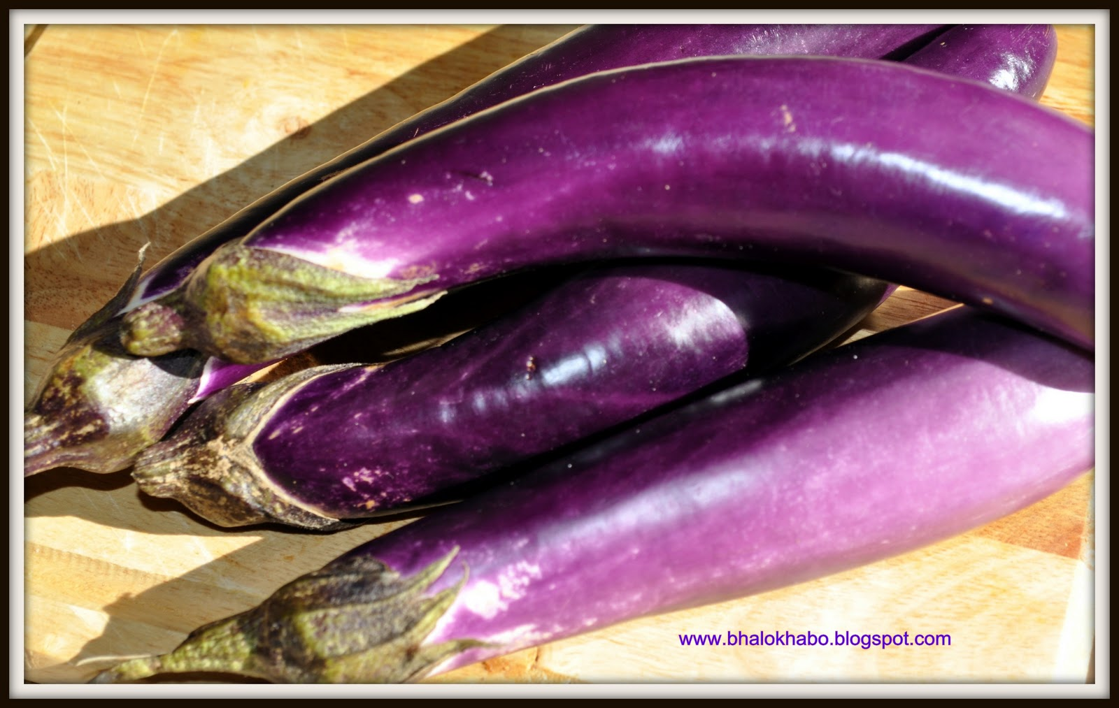 Long Asian Eggplants or 1 Medium Sized Eggplant 1 Onion chopped ...