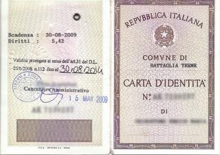 Croaziatours Blog: Carta di identità con proroga o passaporto