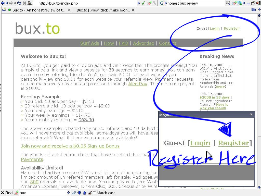 SuccessBux.com - Earn Money