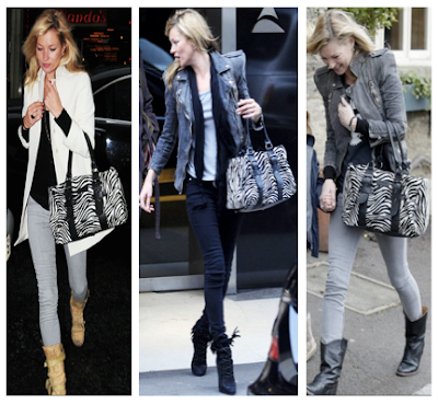 Looks Kate Moss fan del bolso Legend de Longchamp