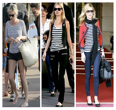 Looks marineros de Kate Moss