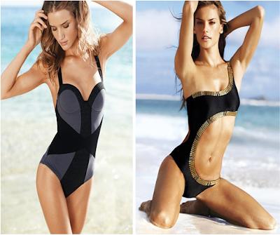 Bañador retro y trikini, Victoria's Secret, Primavera-verano 2010
