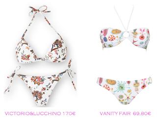 comparativa precios bikinis para delgadas: Victorio&Lucchino 170€ vs Vanity Fair 69,80€