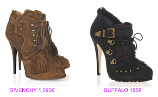 Abotinados estilo british 8 Givenchy vs Buffalo