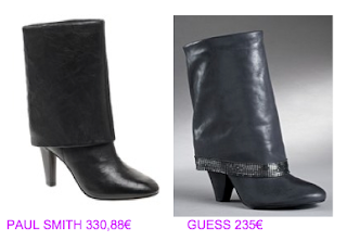 Botines de media caña 5 Paul Smith vs Guess