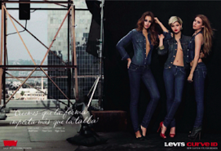 Jeans CURVE ID Levi's 2010/2011