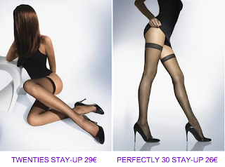 Medias stay-up negras Wolford 2010/2011