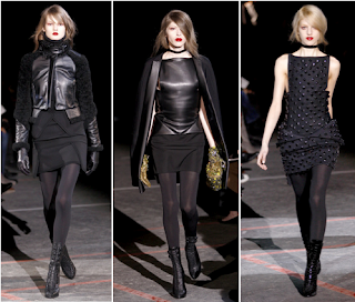 Looks góticos Givenchy 2010/2011