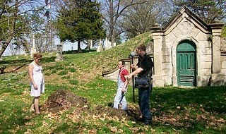 Walking the Graveyard behind the scenes