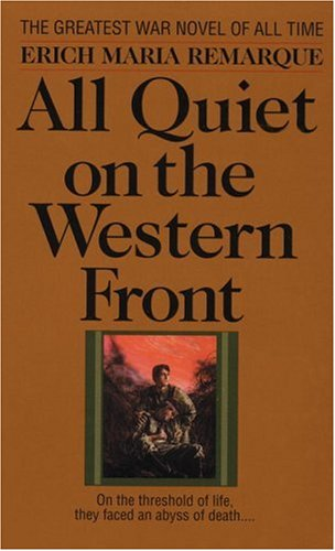 an overview of the world war i book all quiet on the western front (from all quiet on the western front) erich maria remarque was born in fame came with his first novel, all quiet on the western front, which touched a all quiet on the western front - the most representative novel dealing with world war i the book starts in.
