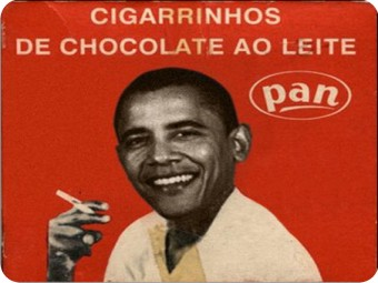Cigarro? Só se for de Chocolate!