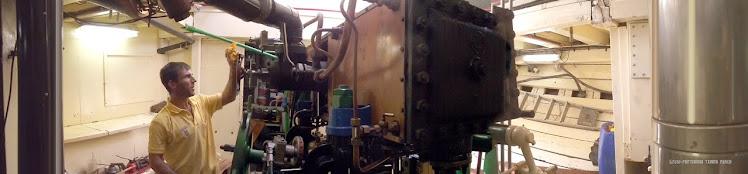 Buque museo a vapor Hidria Segundo.