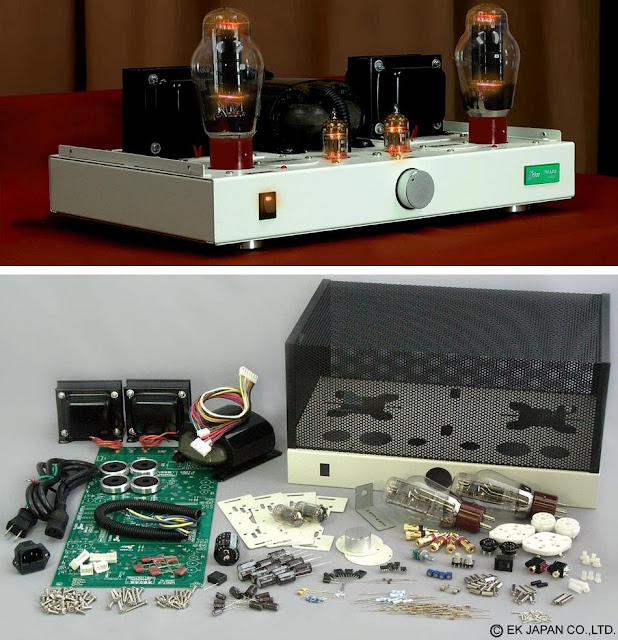 Elekit TU-8300 300B Tube Amplifier Kit