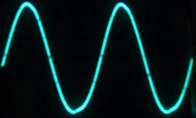 6T9 Tube Amp Sine Wave Response