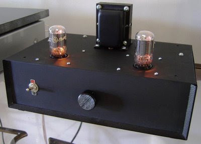 DIY 6T9 Vacuum Tube Amplifier Kit