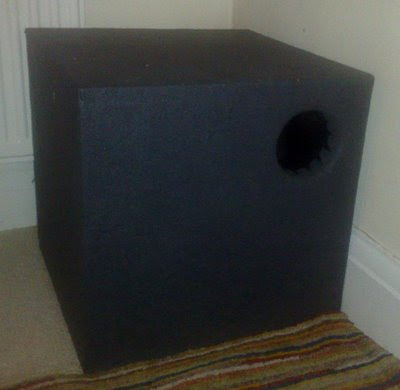 DIY Isobaric 6th Order Bandpass Subwoofer
