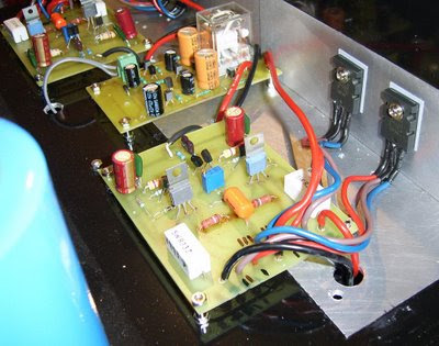 Jean Hiraga Class-A Amplifier PCB
