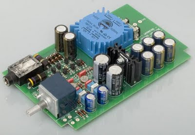 DIY High-End Headphone Amplifier PCB