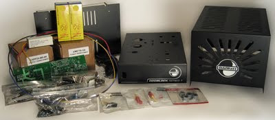 OddBlock KT77 Tube Amp Kit Parts