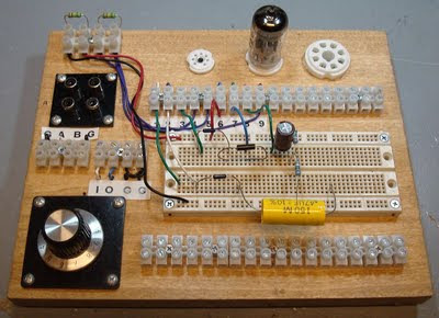 DIY Vacuum Tube Prototyping Board