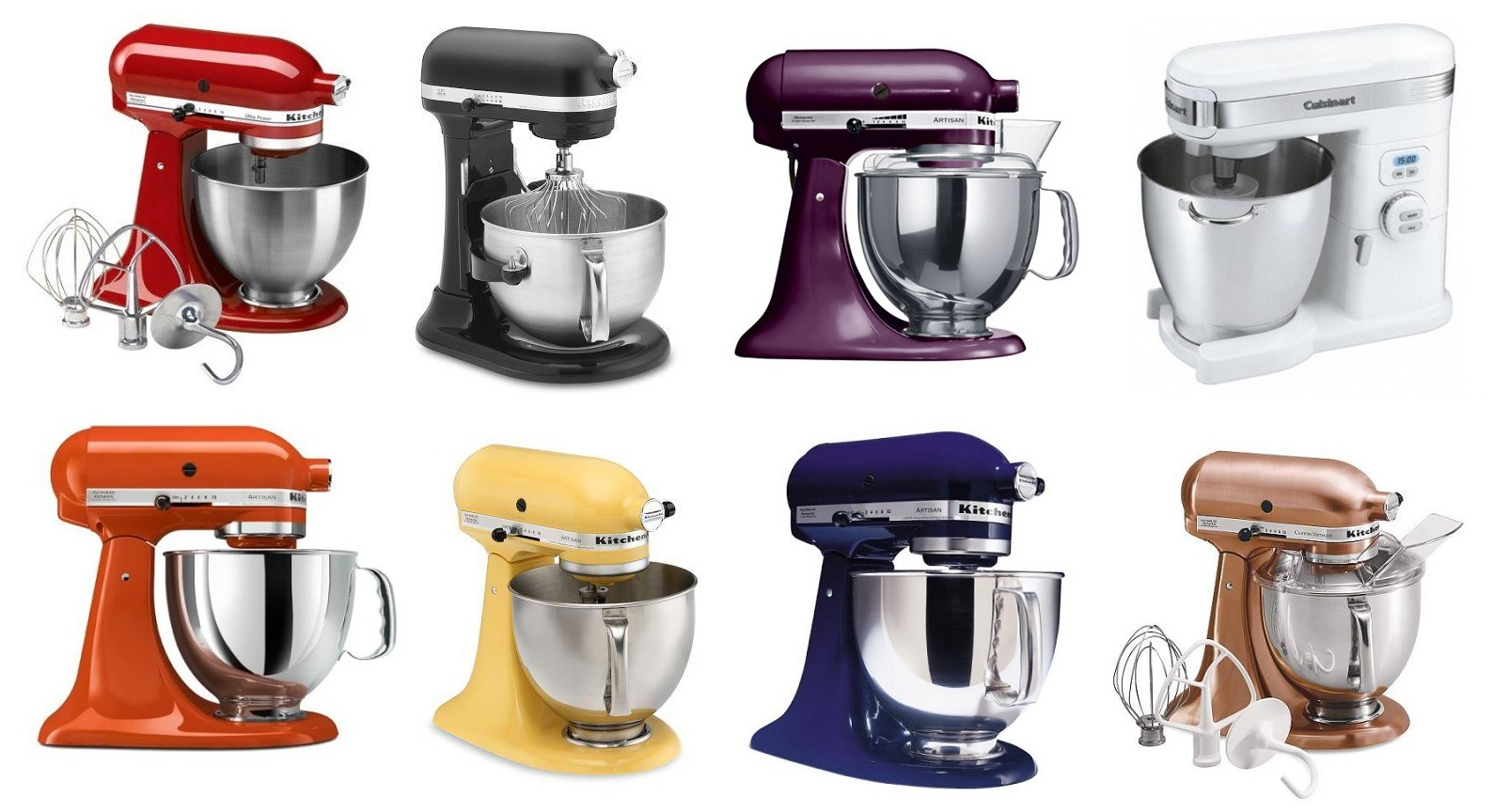 Kitchenaid Artisan Mixer Color Design Choices Pictures to Pin on