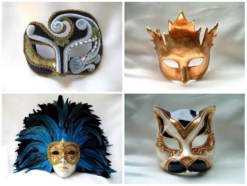 authentic venetian mardi gras masks