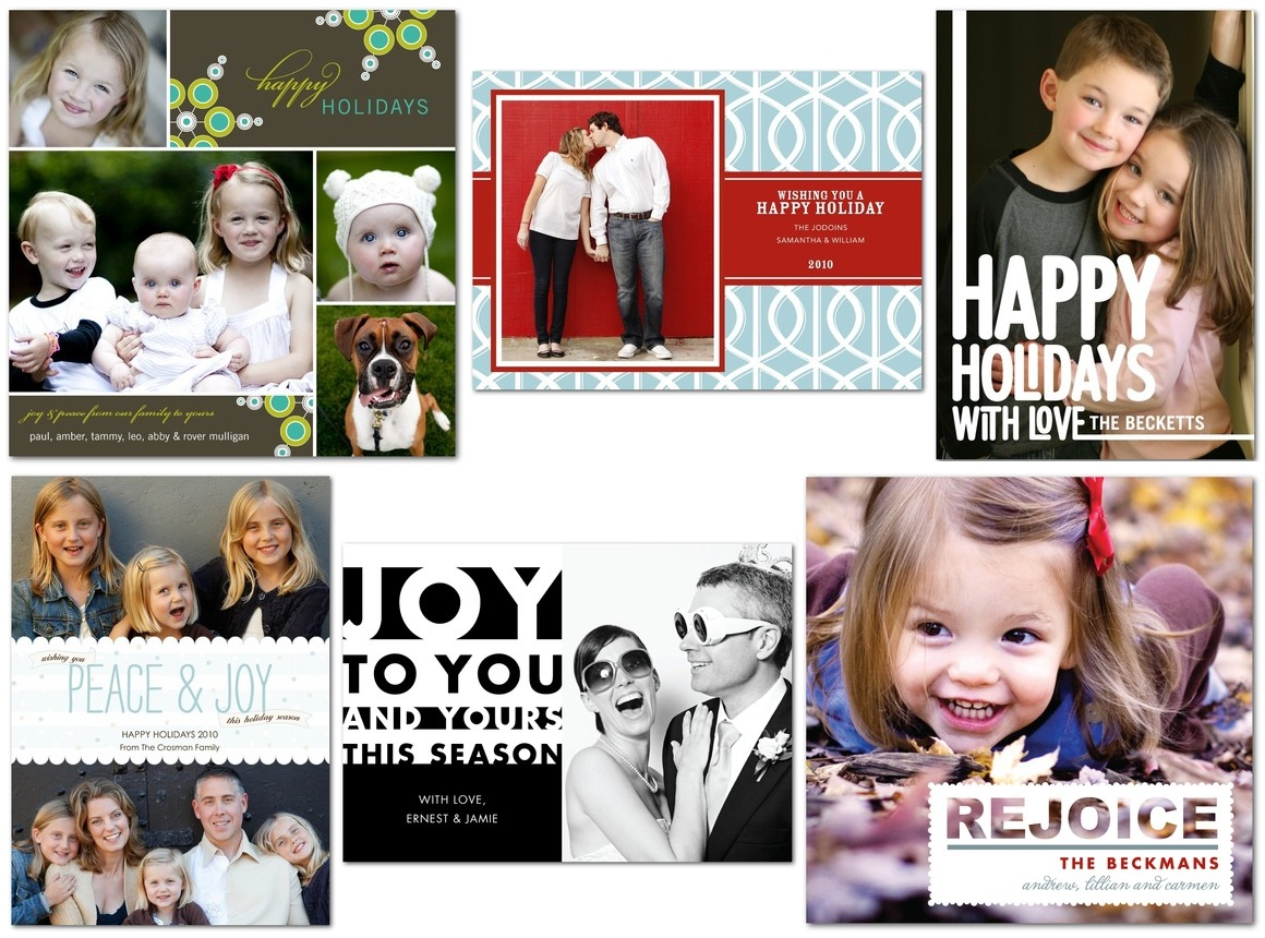thanks mail carrier tiny prints holiday cards review