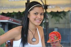 QP Wearer Filipino Movie Actress/Model Juliana Palermo