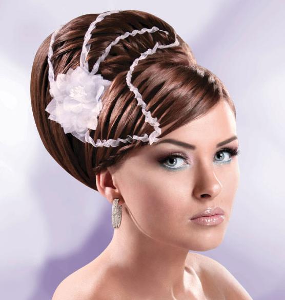 curly wedding hair with tiara. BRIDAL HAIR AND MAKEUP